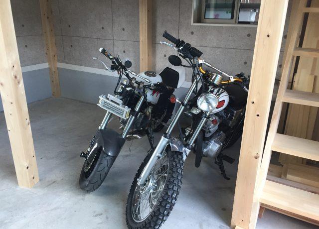 岡山市南区車庫にロフトを造りました