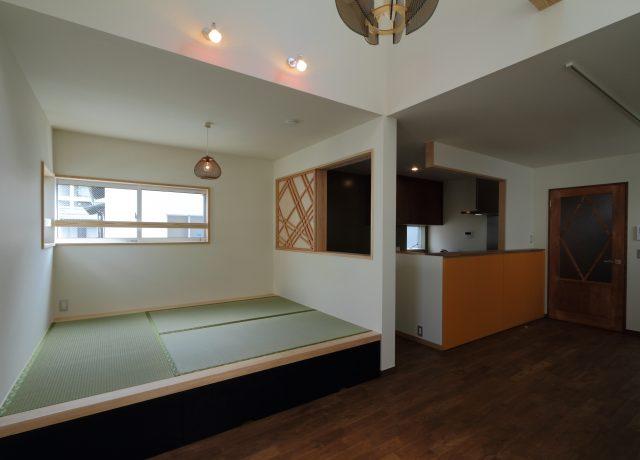 岡山市北区ワンフロアで生活できる3階建