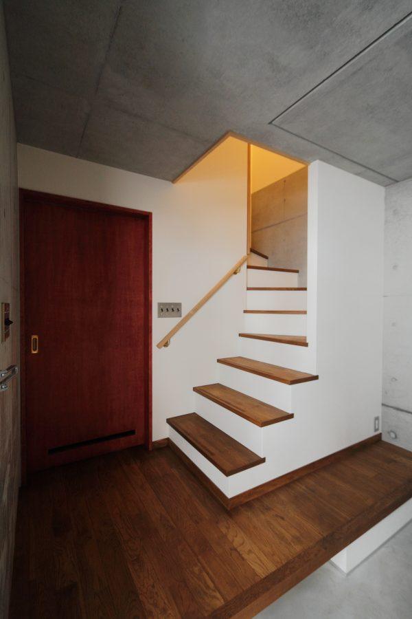 ワンフロアで生活できる3階建4