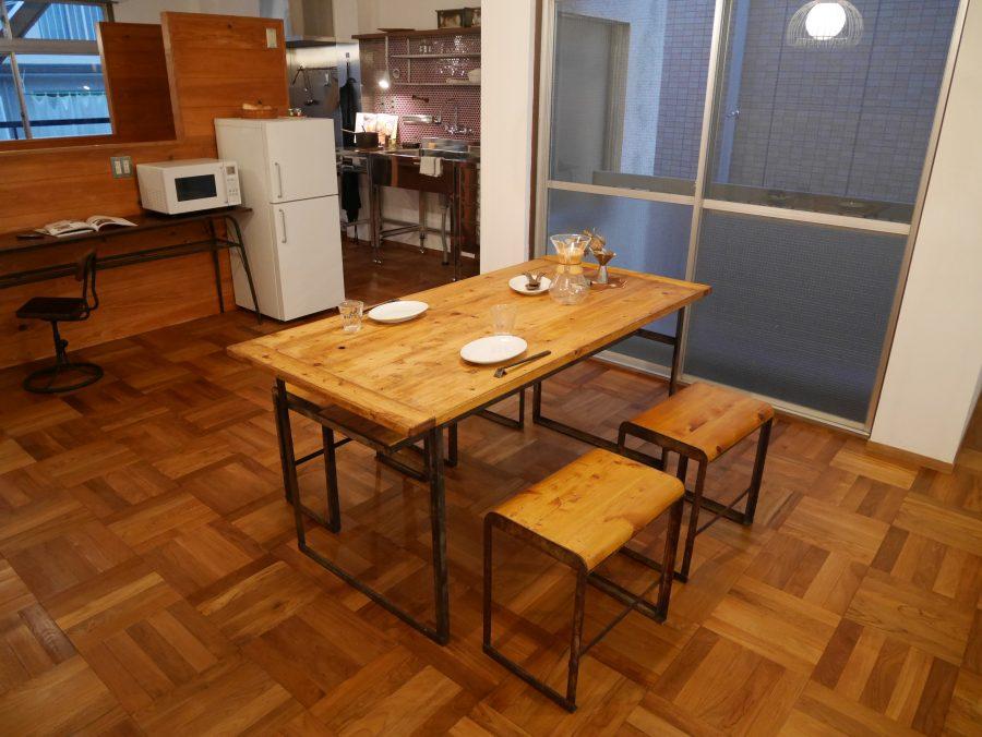 アンティーク家具が似合うリノベーション1