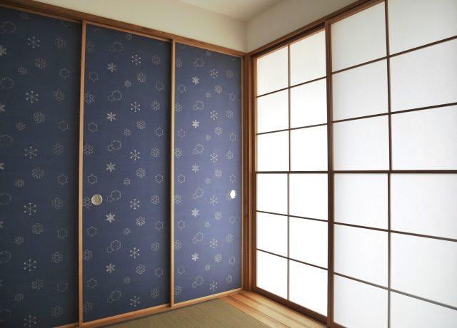 岡山市中区こわだりの和室がある家
