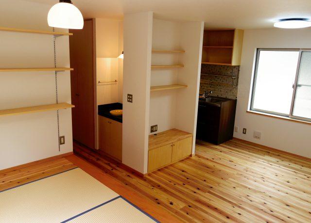 岡山市中区ネコと暮らす家は職場の近く