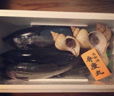 弁慶丸さんのお魚