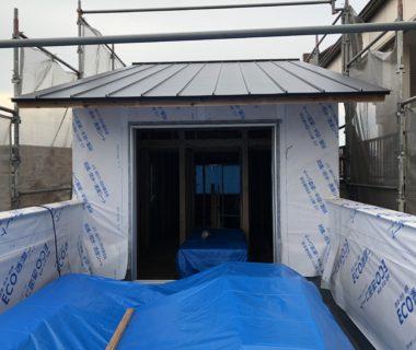 【森下町新築】屋上防水が完成