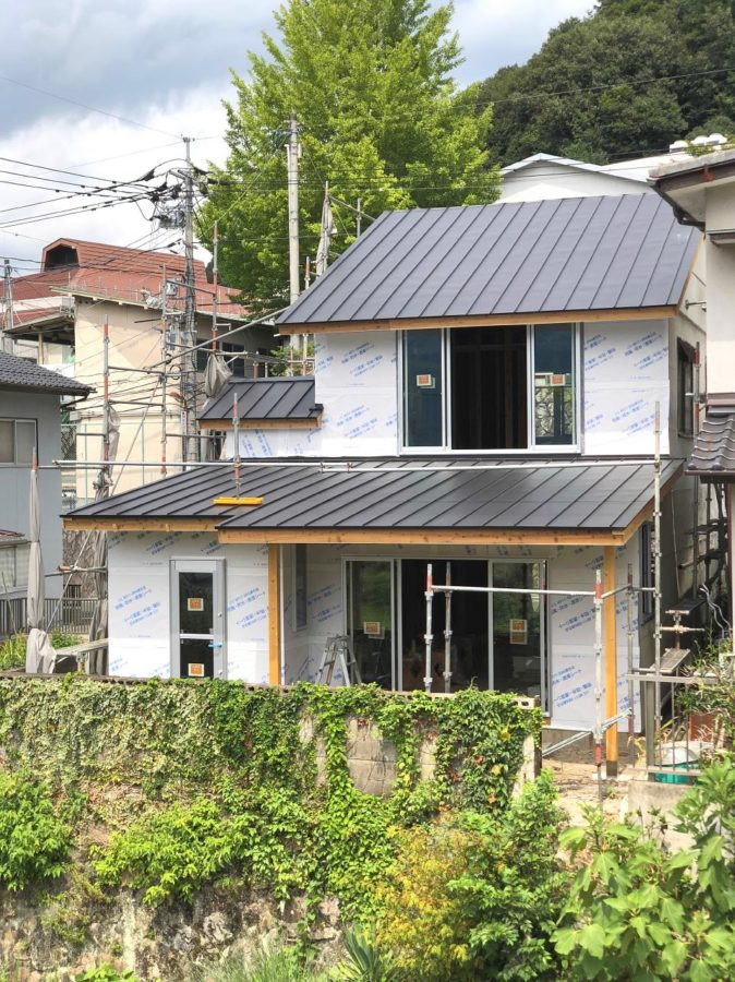 【高梁市リノベ】屋根、サッシュが取り替えられました4